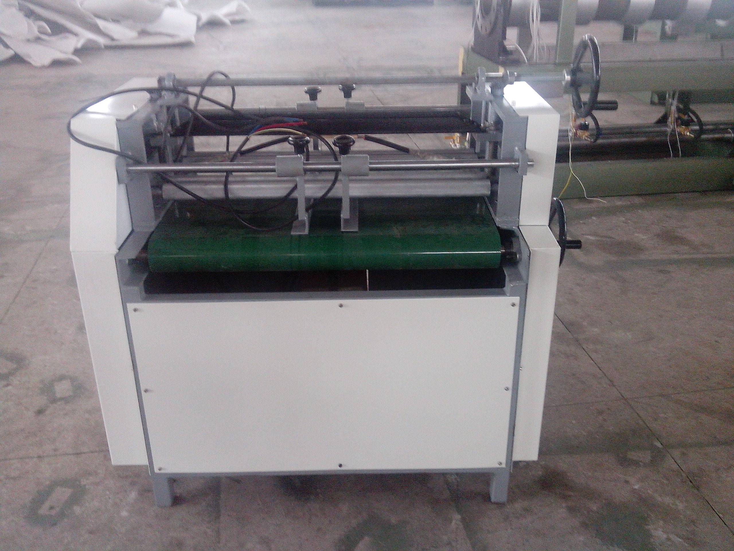 EPE Foam Sheet Grooving machine.