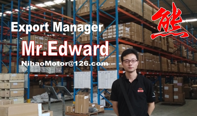 EXPORT MANAGER MR.EDWARD