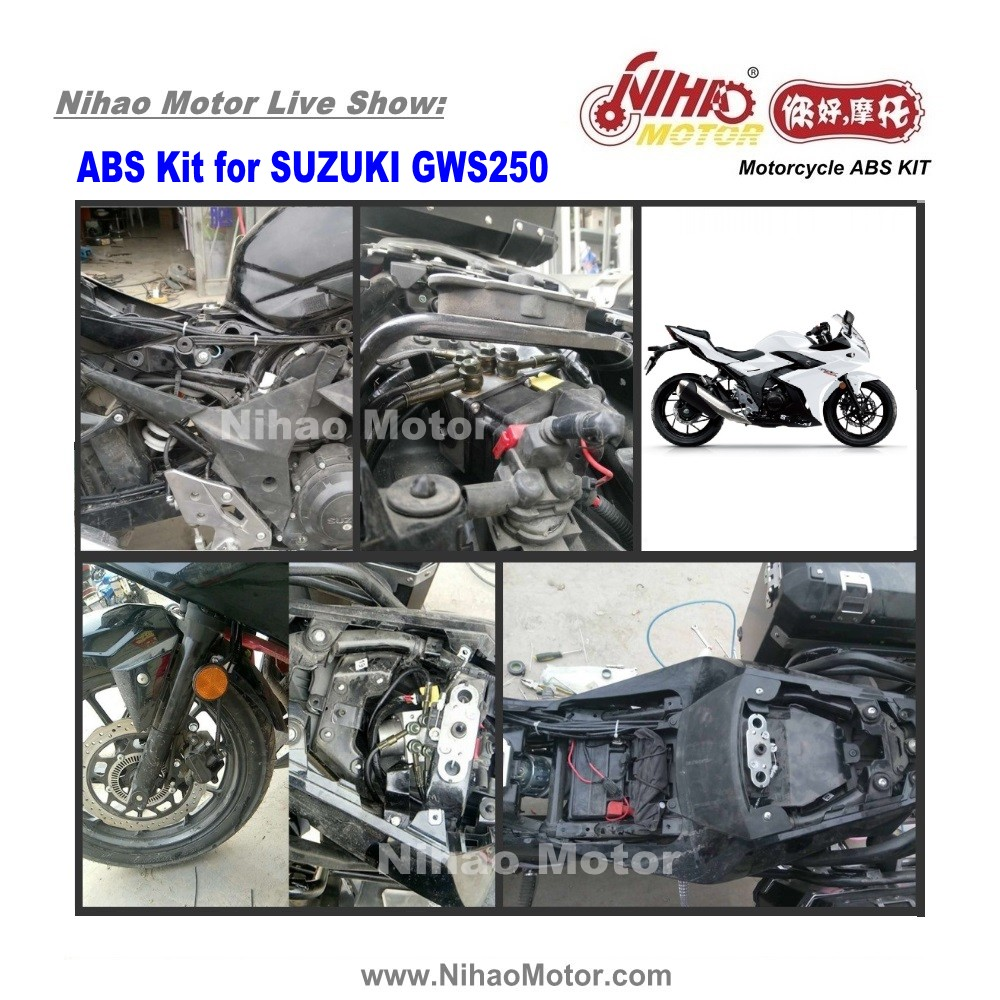 04 ABS KIT Motorcycle Scooter Brake (GSX250)-Nihao Motor official