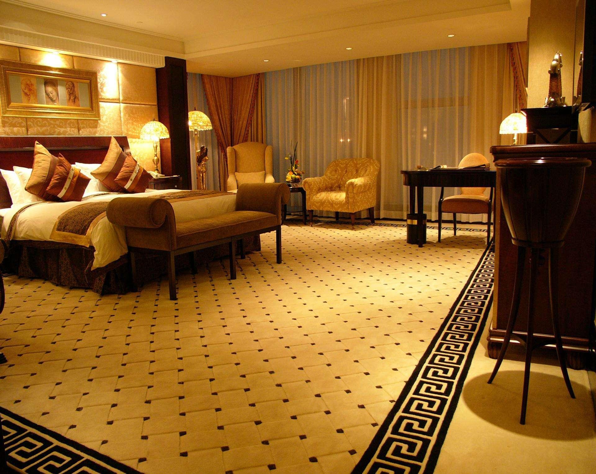 北京工程印花酒店客房地毯-厂家现货直销