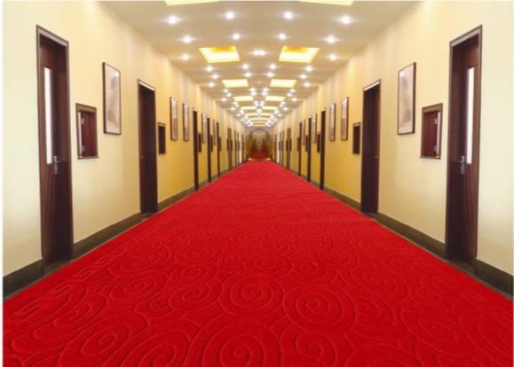 北京条纹纯色酒店走廊地毯-厂家现货定制