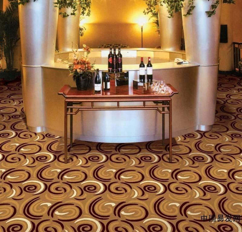 北京拼接印花酒店大堂地毯-厂家现货订做