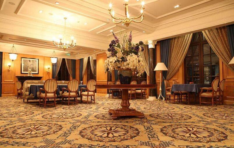 北京拼接酒店大堂地毯-华德地毯厂家批发