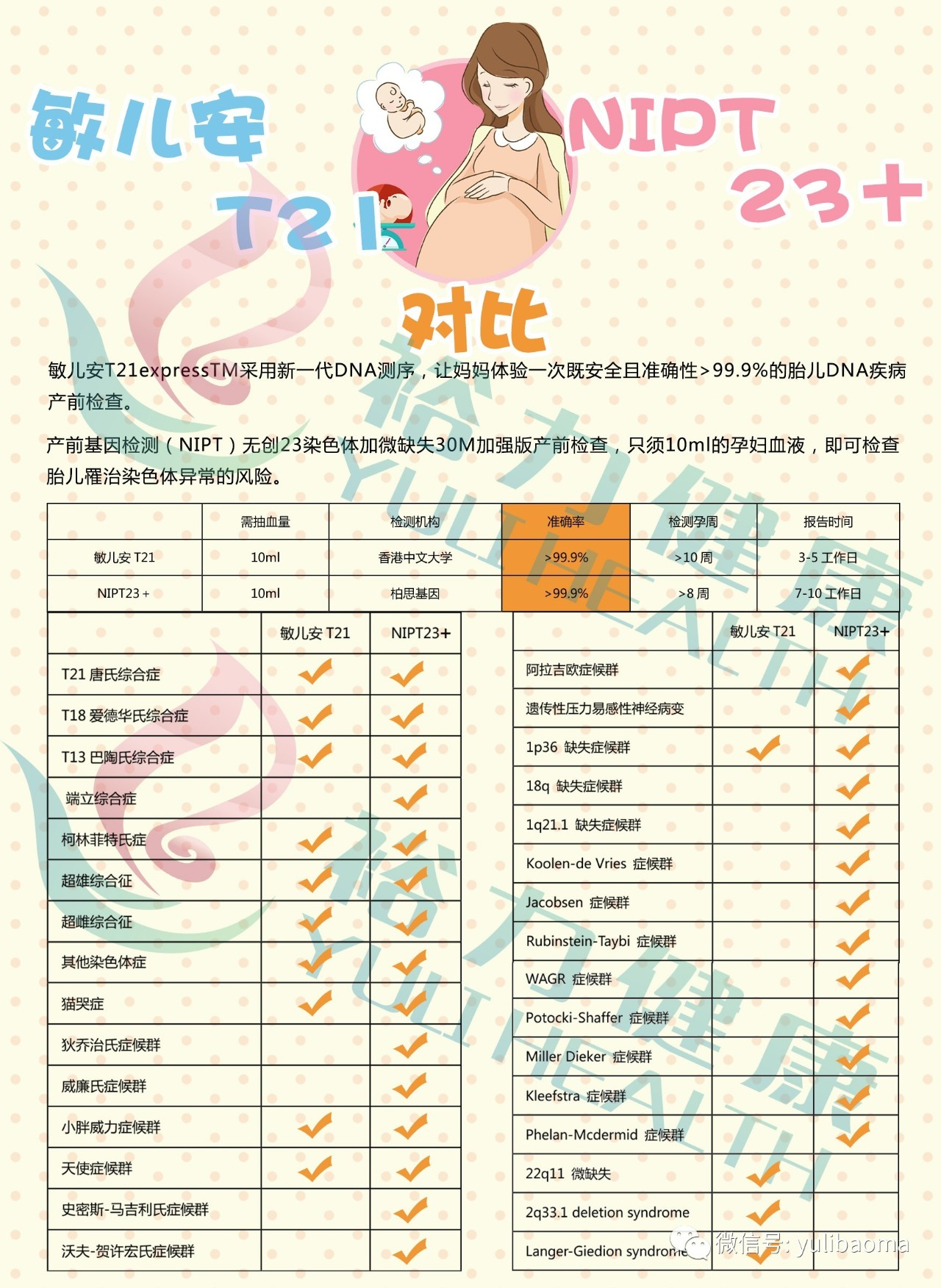 香港无创dna产前基因检测