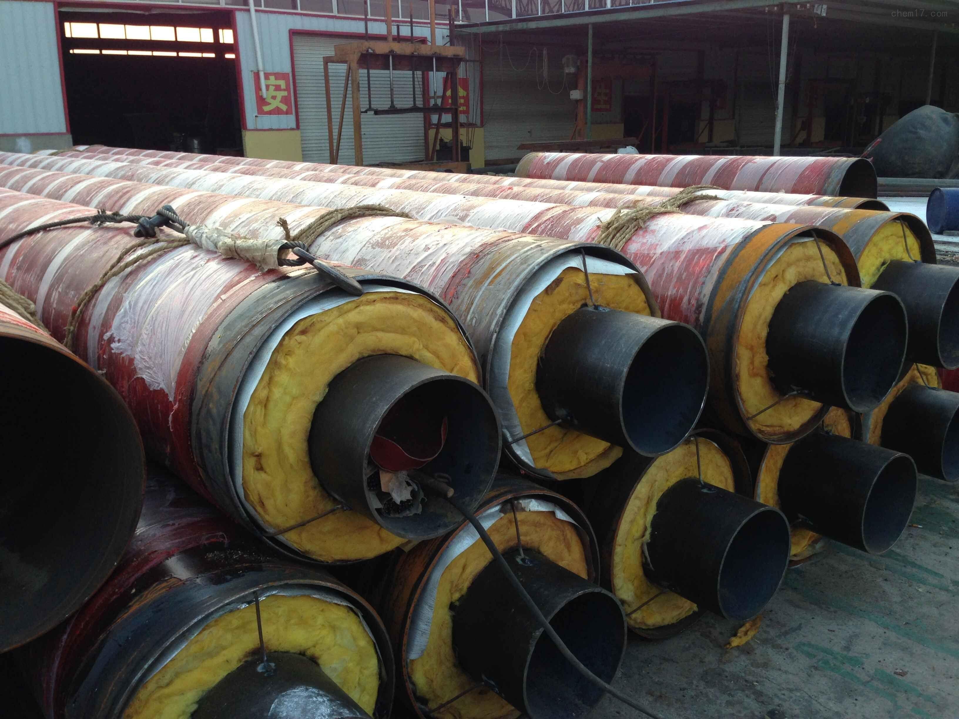 贵阳有机化工蒸汽输送管道改造案例【钢套钢蒸汽保温管案例】