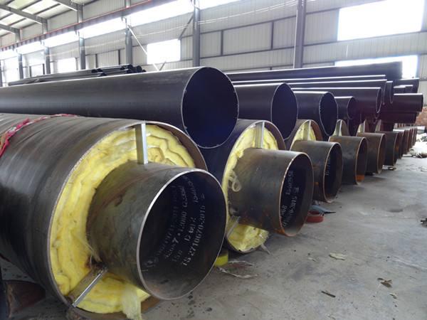 葫芦岛中天化工蒸汽输送工程【钢套钢蒸汽保温管案例】