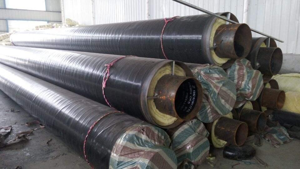 贵阳水晶有机化工集团蒸汽输送管道改造案例【钢套钢保温管案例】