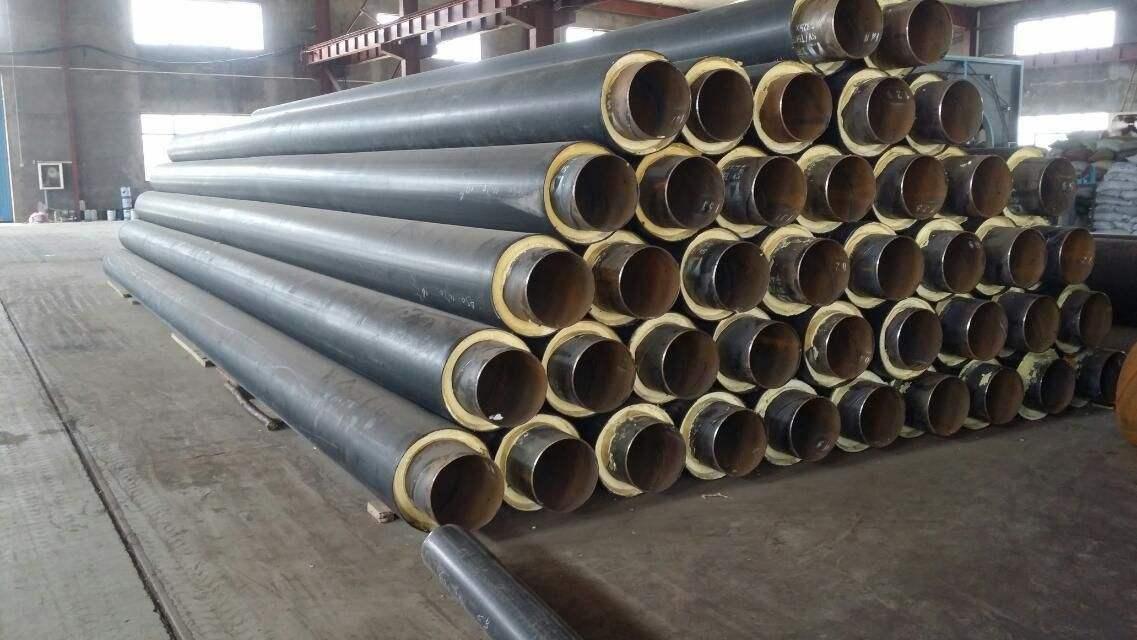 耐酸碱内滑动式钢套钢保温管定制