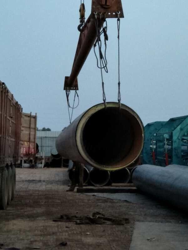 涞水集中供热—暖聚氨酯保温管道工程