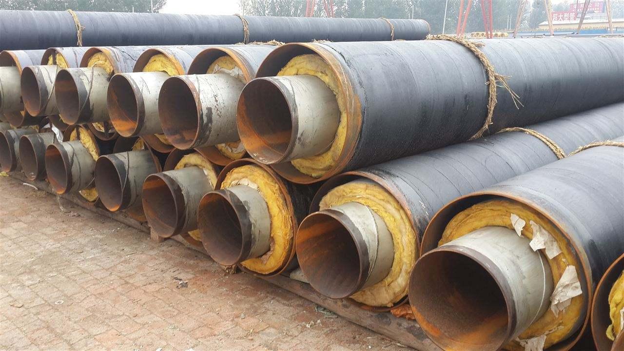 高温防腐内滑动式钢套钢保温管定制-厂家直供