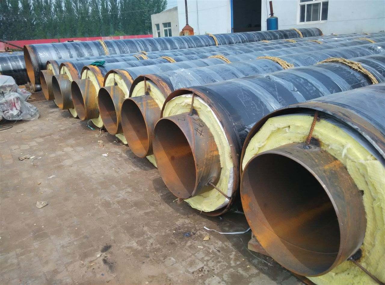 高温防腐预制钢套钢蒸汽保温管定制-厂家直销