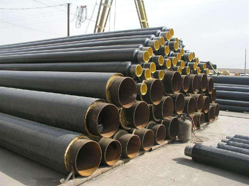 化工管道钢套钢蒸汽保温管