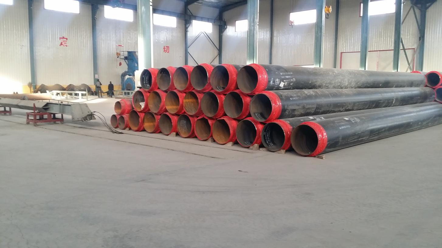 预制外滑动式钢套钢保温管定制