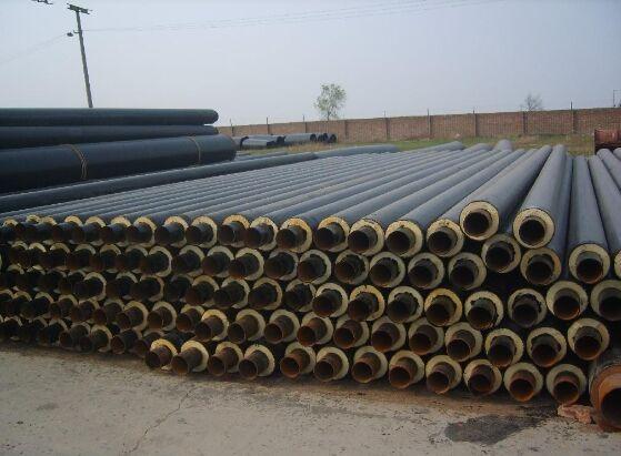 耐高温外滑动式钢套钢保温管定制