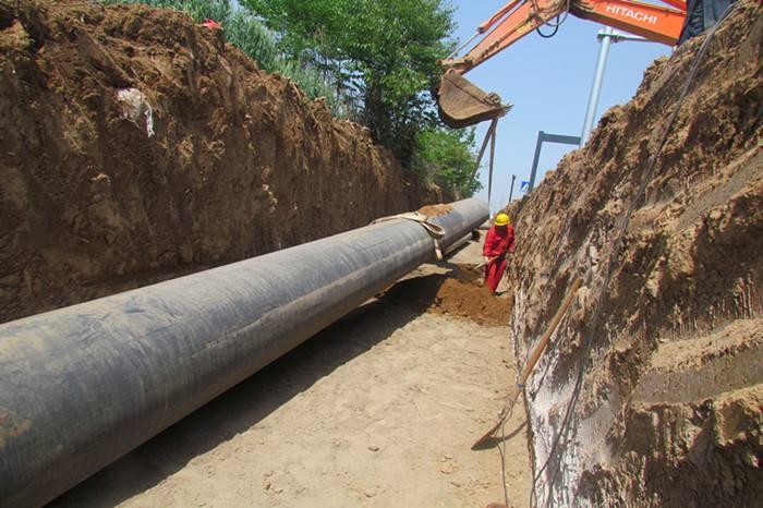 河南信阳蒸汽输送管道改造案例