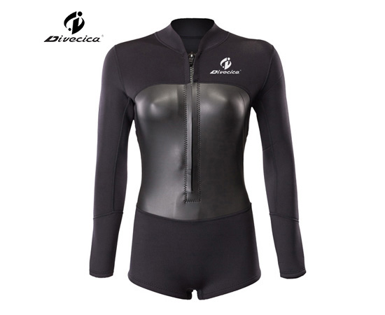 SS-6051 WOMEN NEW DESIGN SUPER STRETCH MATERIAL SURF SUIT