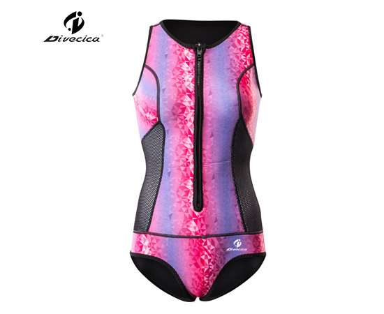 SS-6052 WOMEN NEW DESIGN SLEEVELESS SURFING SUIT