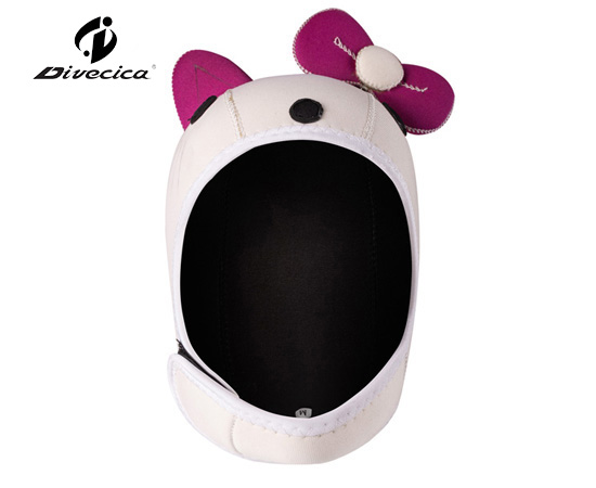 DH-6005 CARTOON HELLO KITTY DIVING HOOD