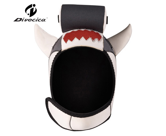 DH-6008 CARTOON LITTLE SHARK DIVING HOOD