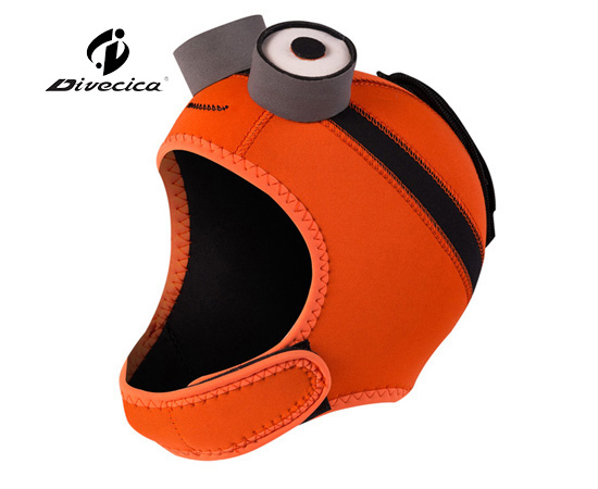 DH-6009 CARTOON CLOWNFISH DIVING HOOD