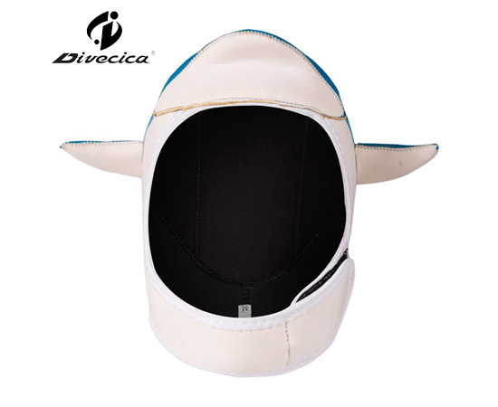 DH-6010 CARTOON LITTLE DOLPHIN DIVING HOOD