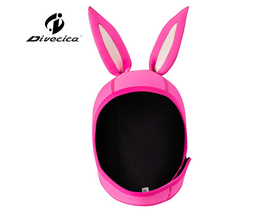 DH-6011 CARTOON RABBIT DIVING HOOD