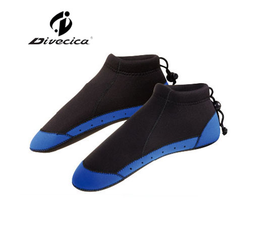 DS-6006 3MM BLUE & BLACK DIVING SOCKS