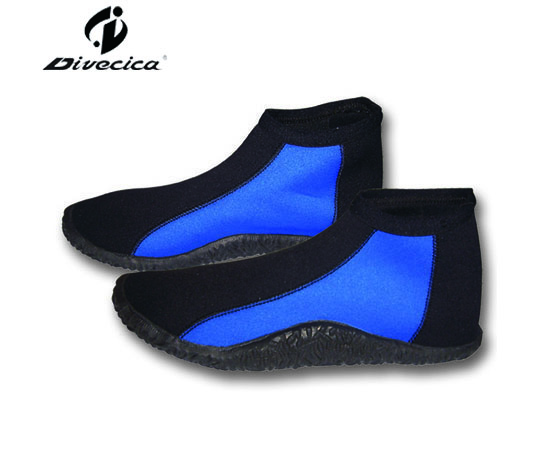 VB-6011 BLUE & BLACK DIVING BOOTS