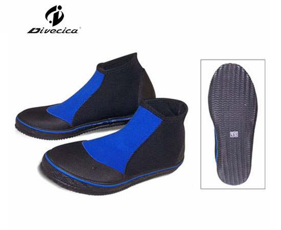 VB-6012 BLACK&BLUE DIVING BOOTS