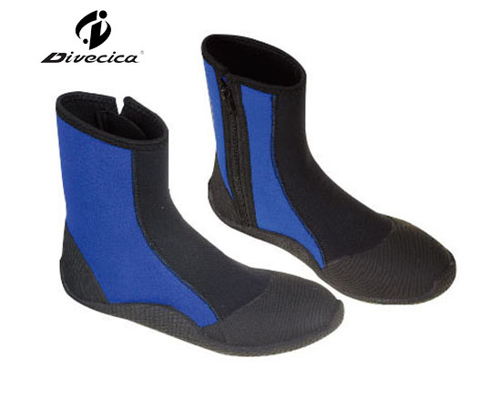 VB-6016 BLACK&BLUE DIVING BOOTS
