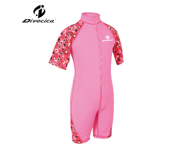 Picture of RG-6014 ONE PIECE FULL SUIT/KIDS RASH GUARD