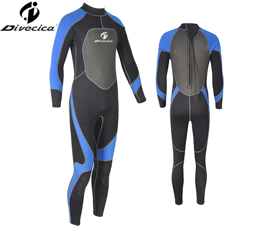 WS-6037 MEN SUPER STRETCH MATERIAL WETSUIT