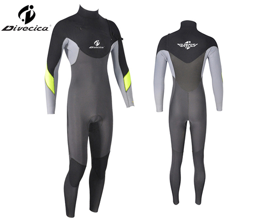 WS-6011 MEN SUPER STRETCH MATERIAL WETSUIT