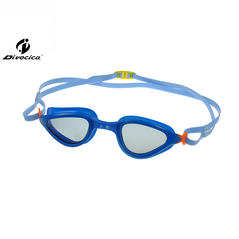 DIVECICA Swim Goggles, Swimming Goggles No Leaking Anti Fog UV Protection Triathlon Swim Goggles with Free Protection Case for Adult Men Women Youth Kids Child, Multiple Choice+8115S