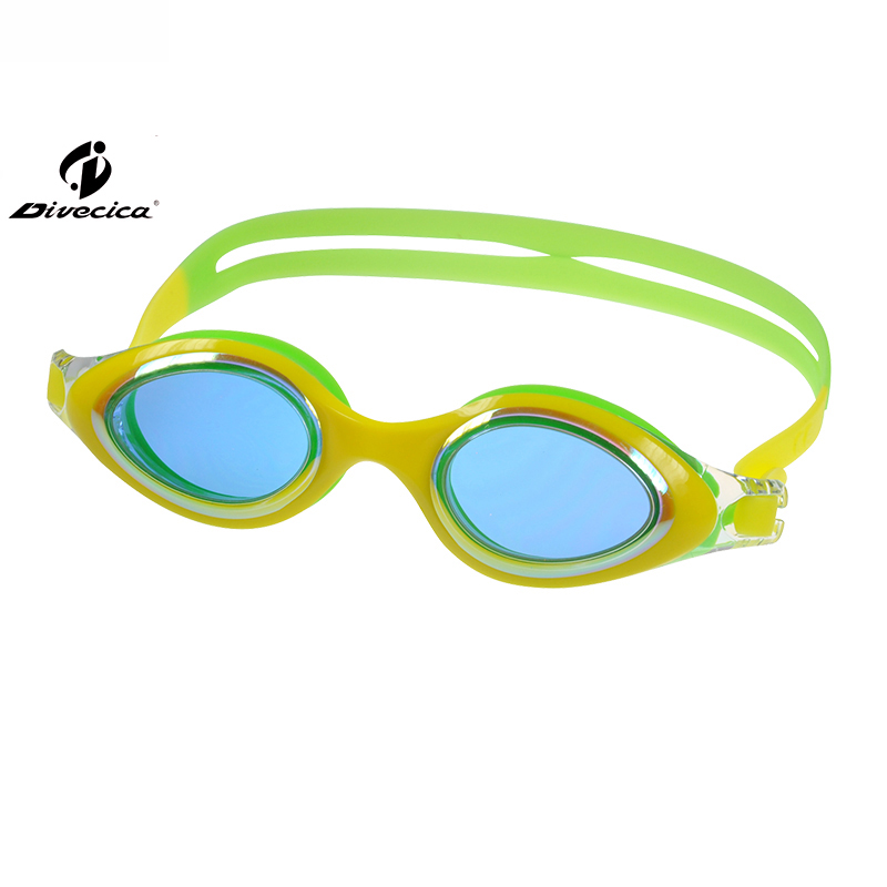 DIVECICA Swim Goggles, Swimming Goggles No Leaking Anti Fog UV Protection Triathlon Swim Goggles with Free Protection Case for Adult Men Women Youth Kids Child, Multiple Choice+9111DM