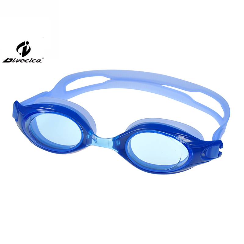DIVECICA Swim Goggles, Swimming Goggles No Leaking Anti Fog UV Protection Triathlon Swim Goggles with Free Protection Case for Adult Men Women Youth Kids Child, Multiple Choice+9113S