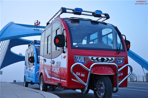 盛昊730新款电动三轮车老年代步车