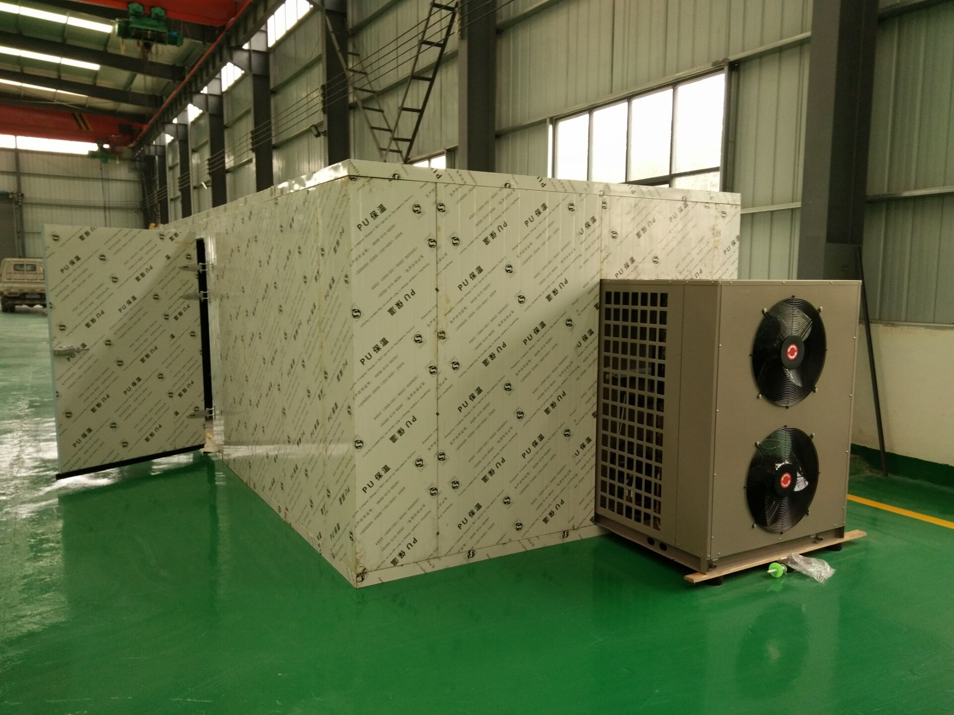 高温热泵烘干机广西桂林淮山烘干案例