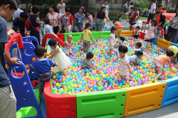 儿童波波球池