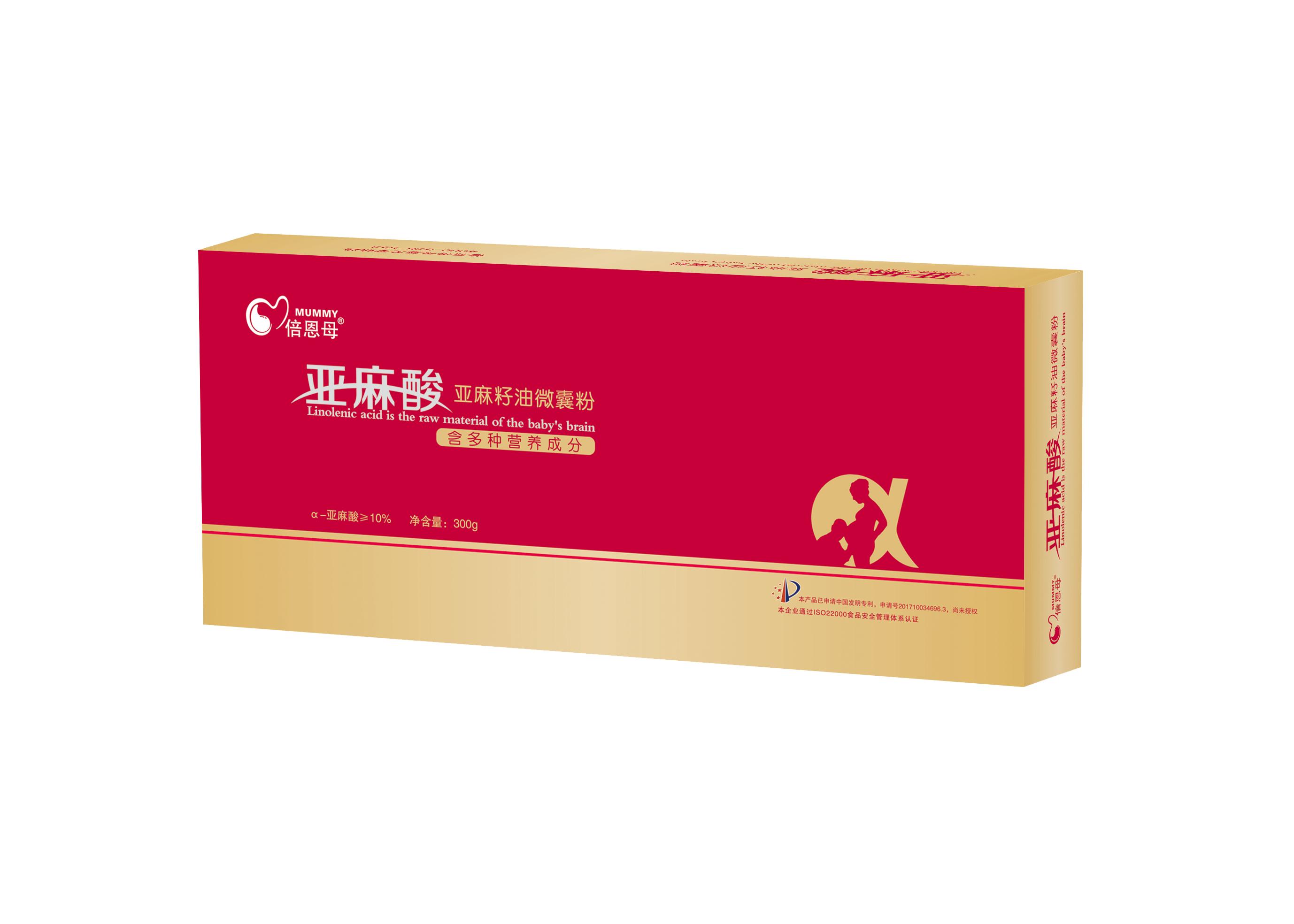 亚麻酸亚麻籽油微囊粉(300克装)