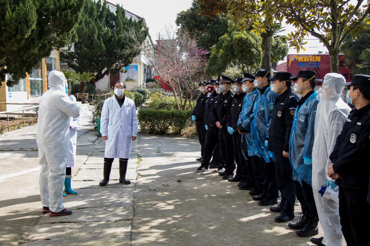县疾控中心全力指导集中隔离医学观察点隔离观察工作