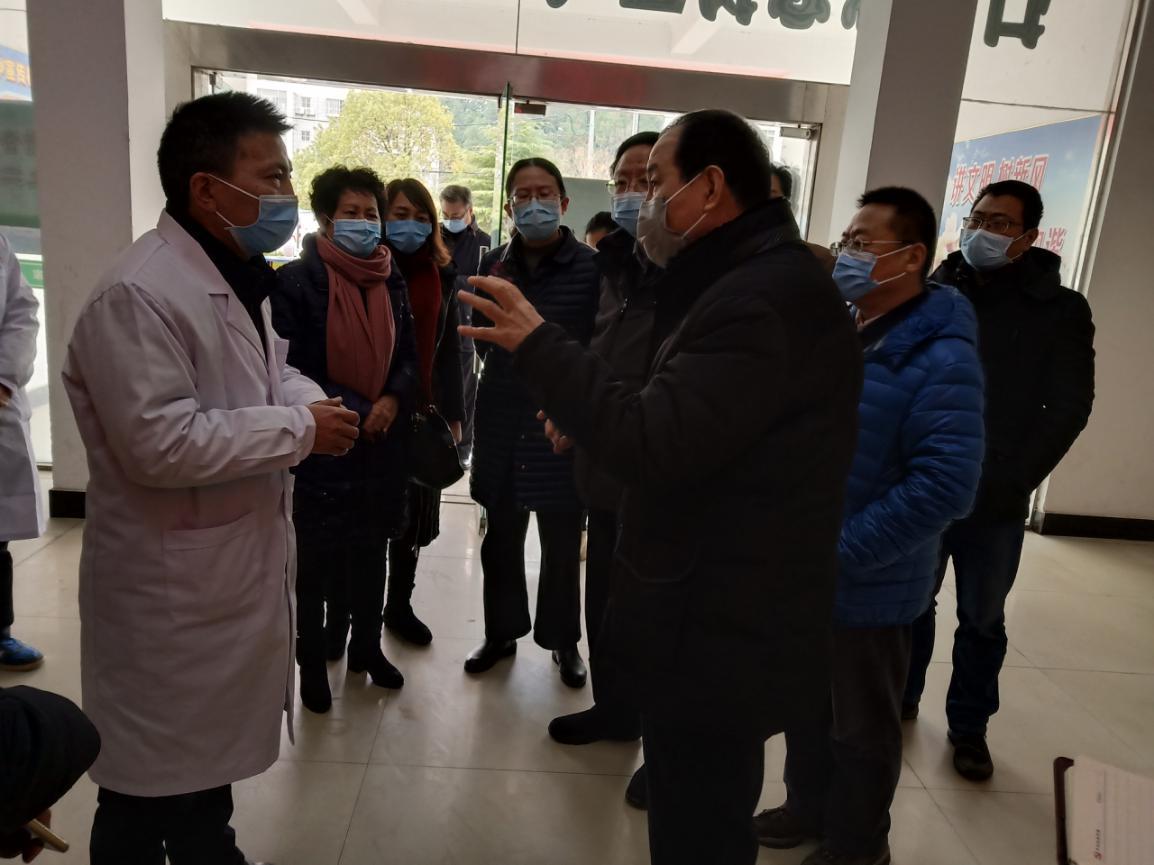 国务院指导组到宿松县疾控中心督查指导疫情防控工作