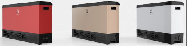 New Energy Air purifier+House floorstanding floor heating  fan coil (NERS-N380FP)
