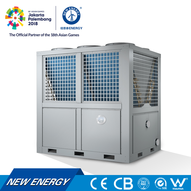 100kw G24K air to water air conditioner heat pump for apartment