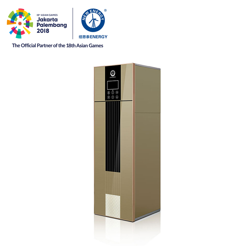 5.3KW R134a household mini floorstanding 240L all in one heat pump