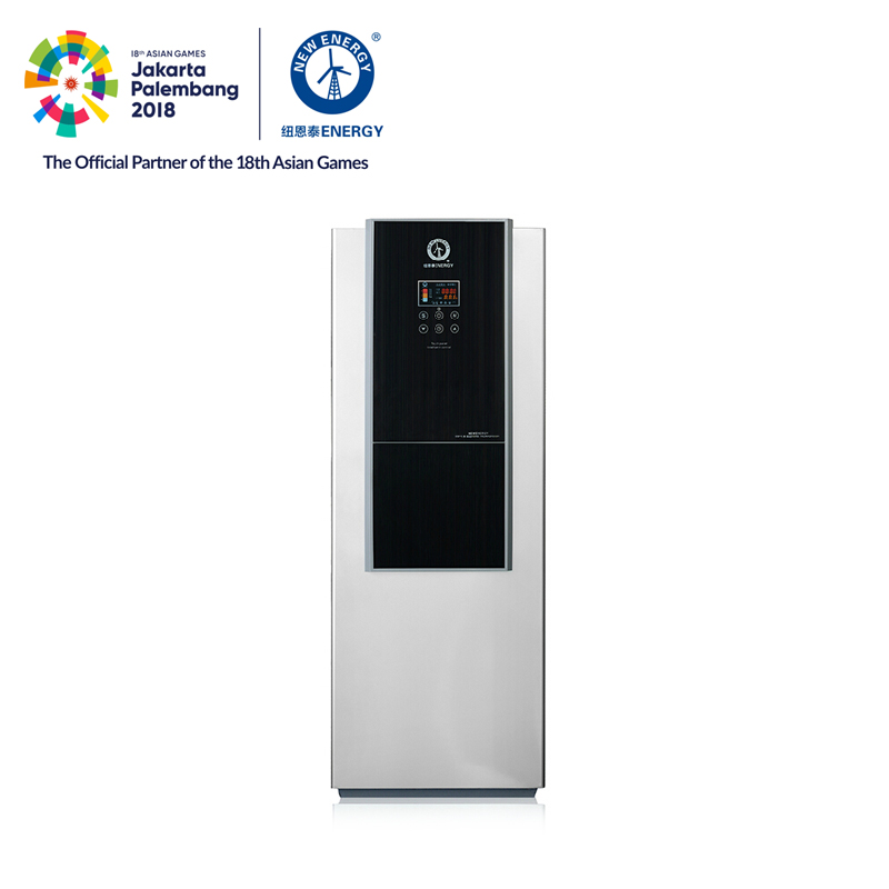 3.6KW 70degre household water heater floorstanding 200L all in one heat pump
