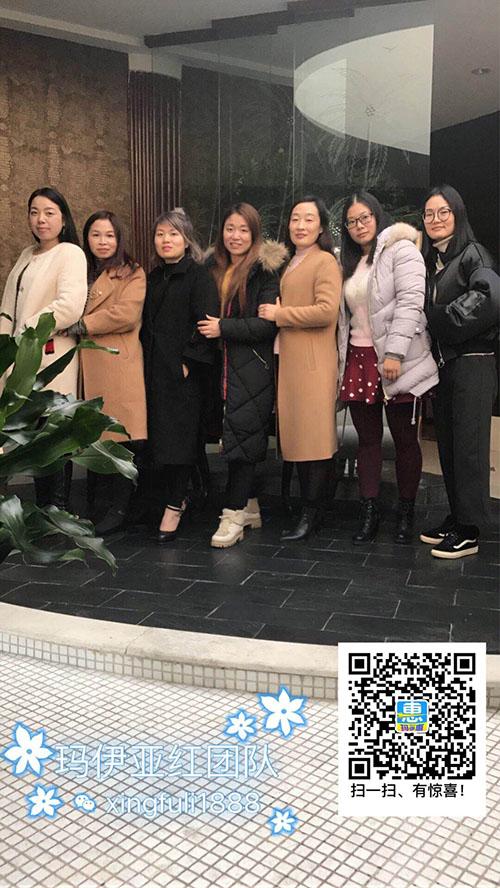 玛伊国际亚红老师江苏常州之行圆满成功合影留念