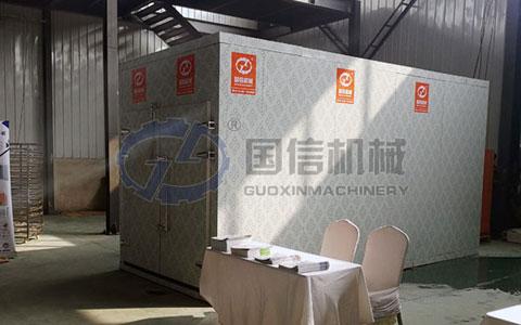 广西淮山药烘干机案例