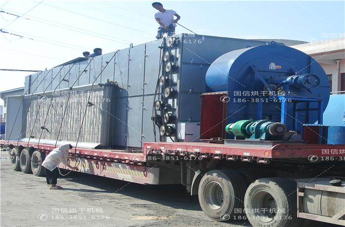 大型网带式山药烘干机-山药加工厂烘干案例