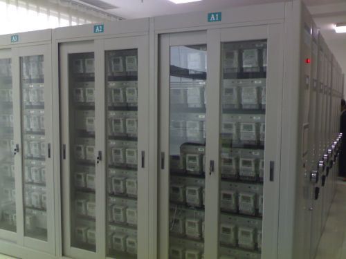电力局手摇式智能表库密集柜
